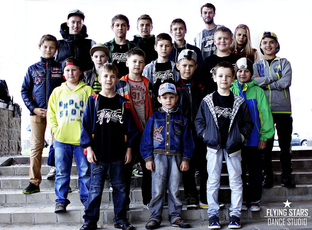 Младшая группа по брейк-дансу Орипова Рустама