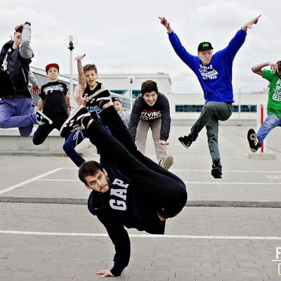 Фотосессия учеников школы танцев FS - Минск