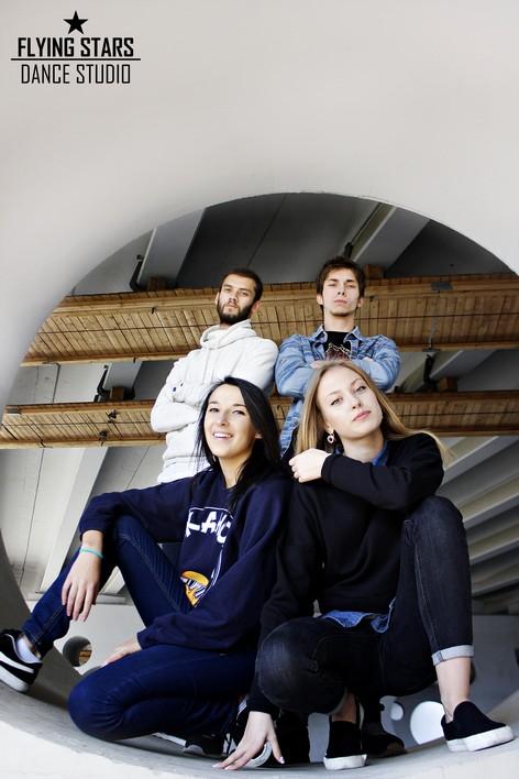 Команда преподавателей студии Флаинг Старс